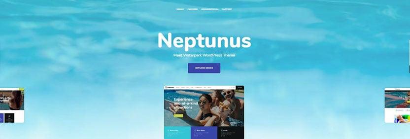 neptunus surfing wordpress themes