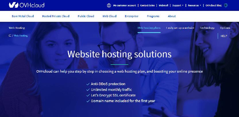OVHcloud - fastest WooCommerce hosting