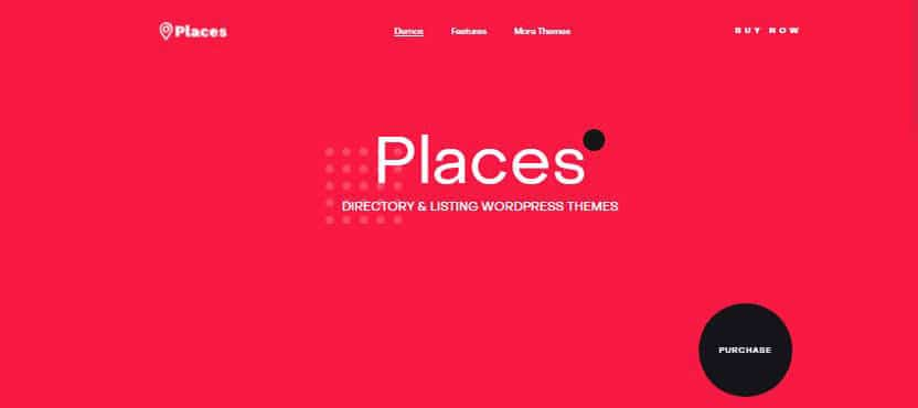 Service listing wordpress theme