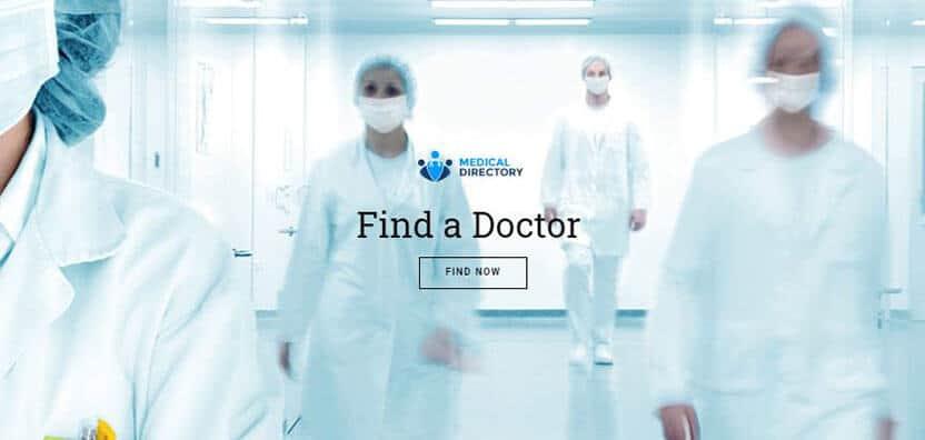 doctors directory wordpress theme