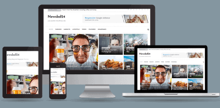 NewsBd24 Newspaper, blog & magazine WordPress theme