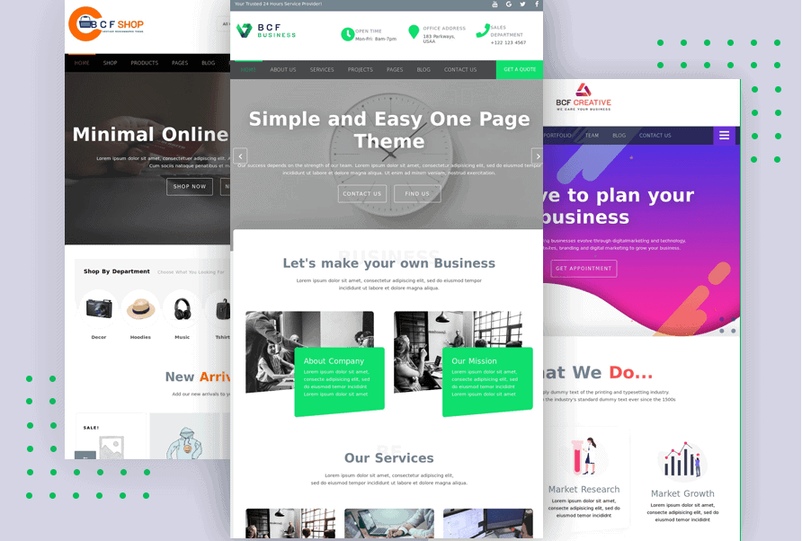 Business Consultant Finder ( BCF ) Multipurpose WordPress Theme for Business, Agency or Store