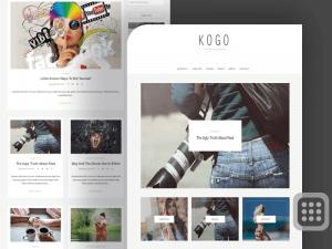 KOGO Personal Blog and lifestyle Blogging WordPress Theme