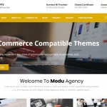 ModuAgency WooCommerce Compatible Multi Purpose theme
