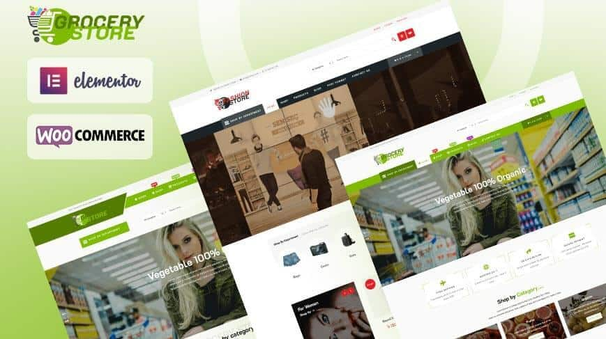 Grocery-Store :- WordPress WooCommerce Theme ( Pro )