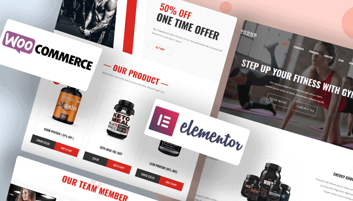 WordPress Gym Theme