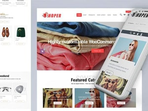 Shoper ( PRO ) Best WooCommerce Theme