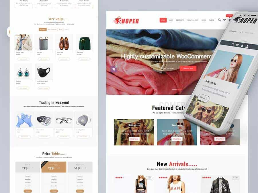 Shoper(PRO) Best WooCommerce Theme
